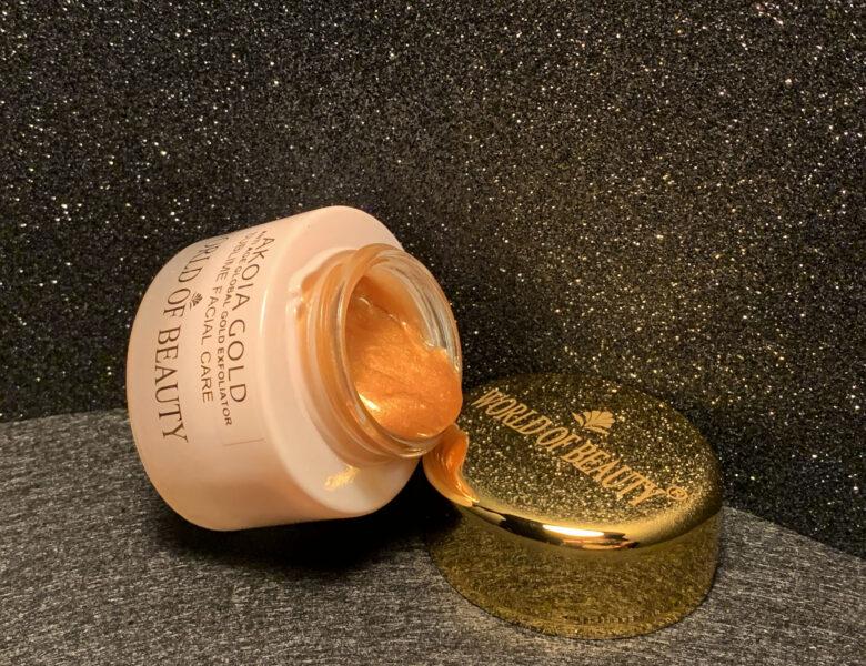 Akoia Gold Enzyme Scrub World of Beauty